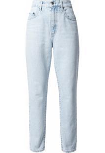 Nobody Denim Calça Jeans Cenoura Francesca Cintura Alta - Azul