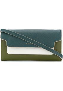 Marni Clutch Bicolor - Verde