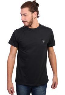 Camiseta New York Polo Club Tagless Preto - Masculino