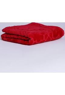 Toalha De Rosto Vermelho