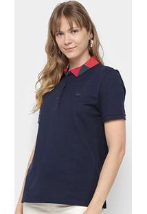 Camisa Polo Lacoste Lisa Feminina - Feminino