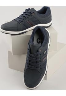 Sapatênis Jeans Masculino Ollie Azul Escuro