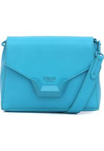Bolsa Colcci Recortes Azul