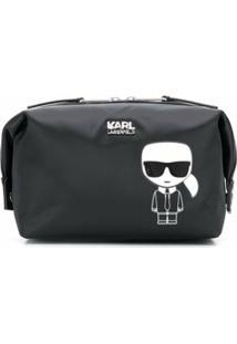 Karl Lagerfeld Necessaire Karl K/Ikonik - Preto