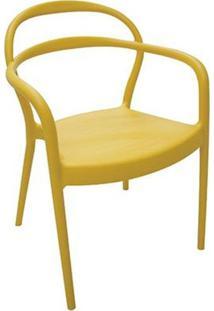 Cadeira Sissi Amarela Tramontina 92045/000