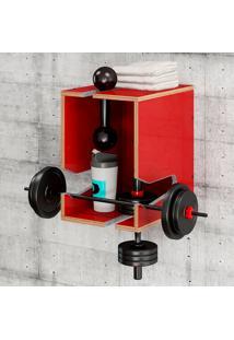 Módulo Easy – Be Mobiliário - Vermelho