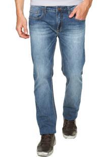 Calça Jeans Sommer Bigode Azul