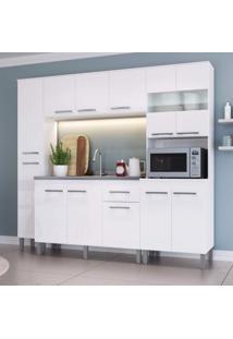 Cozinha Compacta 4 Peças 12 Portas Joy Decibal Branco