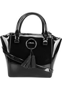 Bolsa Petite Jolie Shape Bag Feminina - Feminino-Preto