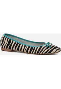 Sapatilha Feminino Milano Zebra 11704