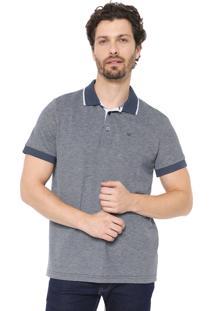 Camisa Polo Colombo Reta Azul-Marinho
