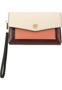 Tory Burch Clutch Robinson - Neutro