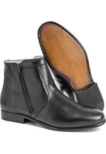 Bota Social Hb Agabe Boots Masculina - Masculino-Preto