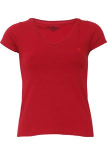 Camiseta Polo Wear Lisa Vinho