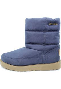 Bota Barth Shoes Snowflake Azul Marinho