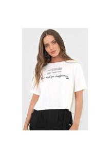 Camiseta Dimy Lettering Off-White
