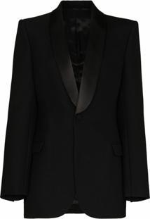 Wardrobe.Nyc Blazer Com Abotoamento Simples De Lã - Preto