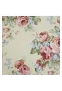 Papel De Parede Fragrant Roses Fa811015 Vinílico Com Estampa Contendo Floral