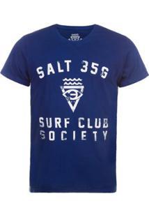 Camiseta Salt 35G Surf Society Masculina - Masculino