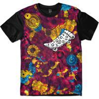 Camiseta Lf Pizza Skate Sublimada Masculina - Masculino-Roxo e496c86e3ae79