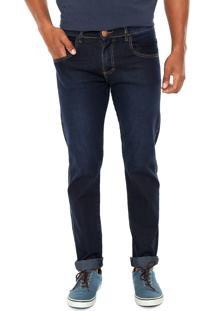 Calça Jeans Fiveblu Slim Savannah Azul