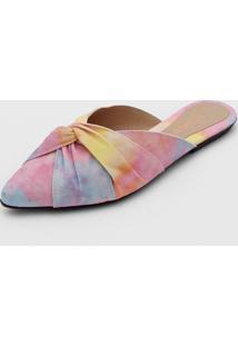 Mule Fiveblu Tie Dye Rosa/Amarelo - Kanui
