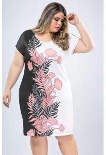 Vestido Com Estampa Digital Estampado