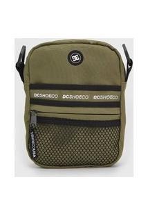 Bolsa Dc Shoes Shoulder Bag Starcher Verde