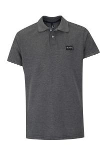 Camisa Polo Fatal 20656 - Masculina - Preto Mescla