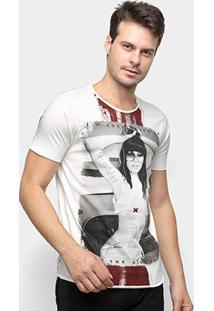 Camiseta Derek Ho Ace It Masculina - Masculino-Off White