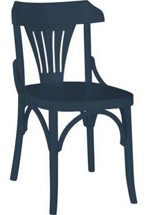 Cadeira De Jantar Opzione Azul Noite