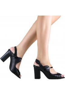 Sandália Zariff Shoes Casual Em Couro