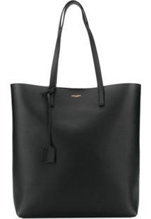 Saint Laurent Bold Shopping Tote Bag - Preto