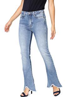 Calça Jeans Carmim Bootcut Cancun Azul
