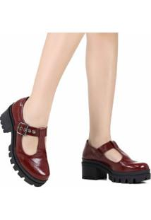 efa1f40813 Sapato Dakota Vermelho feminino