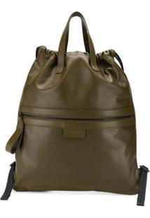 Bottega Veneta Flat Tote Backpack - Verde