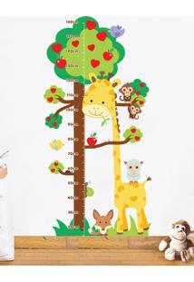 Adesivo Decorativo Stixx Reguinha Zoo Amarelo - Amarelo - Dafiti