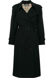 Burberry Trench Coat 'Heritage' - Preto