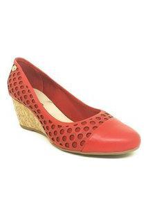 Scarpin Anabela Bottero Rouge 285925 Vermelho