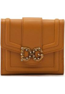 Dolce & Gabbana Carteira Dg Amore - Marrom
