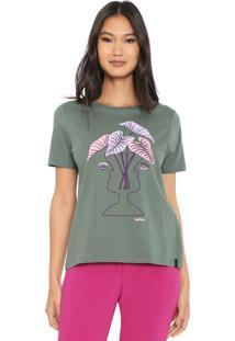 Camiseta Cantão Vaso Verde