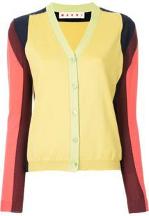 Marni Suéter Em Colour Block - Estampado