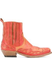 Golden Goose Ankle Boot Santiago - Laranja