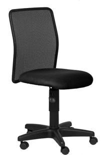 Cadeira Giratória Executiva Tela Travel Tecido Preto