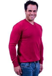 Suéter G'Dom 100% Algodão Vermelho