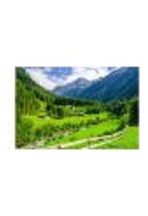 Painel Adesivo De Parede - Montanha - Paisagem - 681Pnp