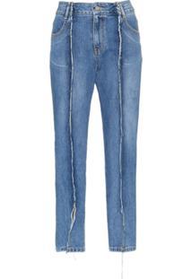 Sjyp Calça Jeans Clássica - Azul