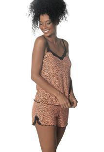 Pijama Curto Shortdoll Anicet Demillus 20412