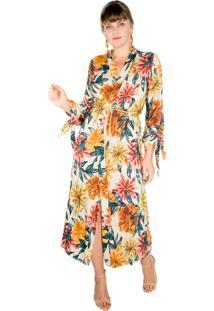 bc9384c7fb Kimono Fashion Linho Viscose feminino