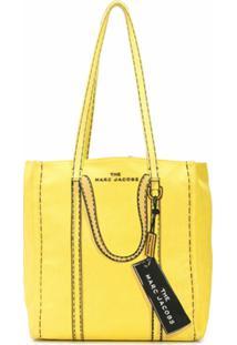 Marc Jacobs Bolsa Tote Com Tag - Amarelo